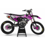 Kit déco Perso FACTORY suzuki ENERGY MA33D3 rose
