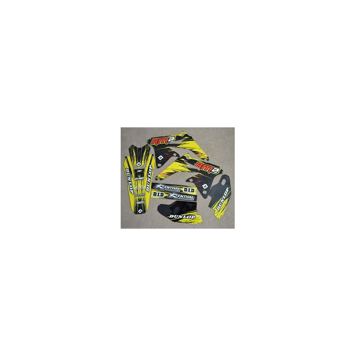 Kit Déco 450 RMZ 08-16 PRO TEAM SERIES (REFSZ8328)