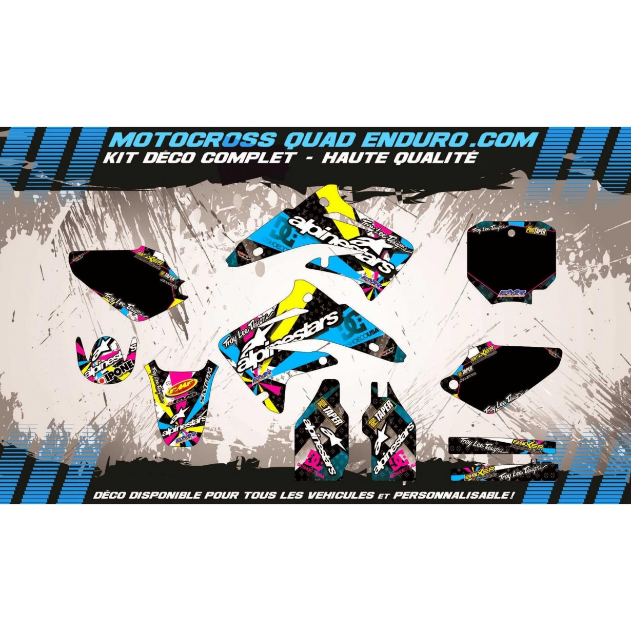 KIT DÉCO Perso 85 CR 03-18 ALPINESTARS MA4A