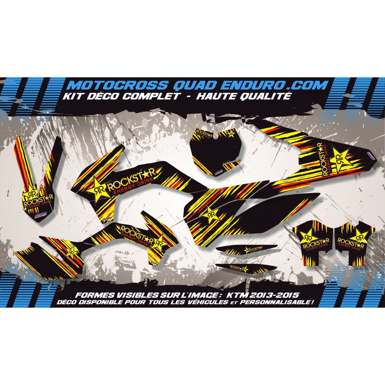 KIT DÉCO Perso 50 RR enduro 2007 Factory Replica BETA MA10G