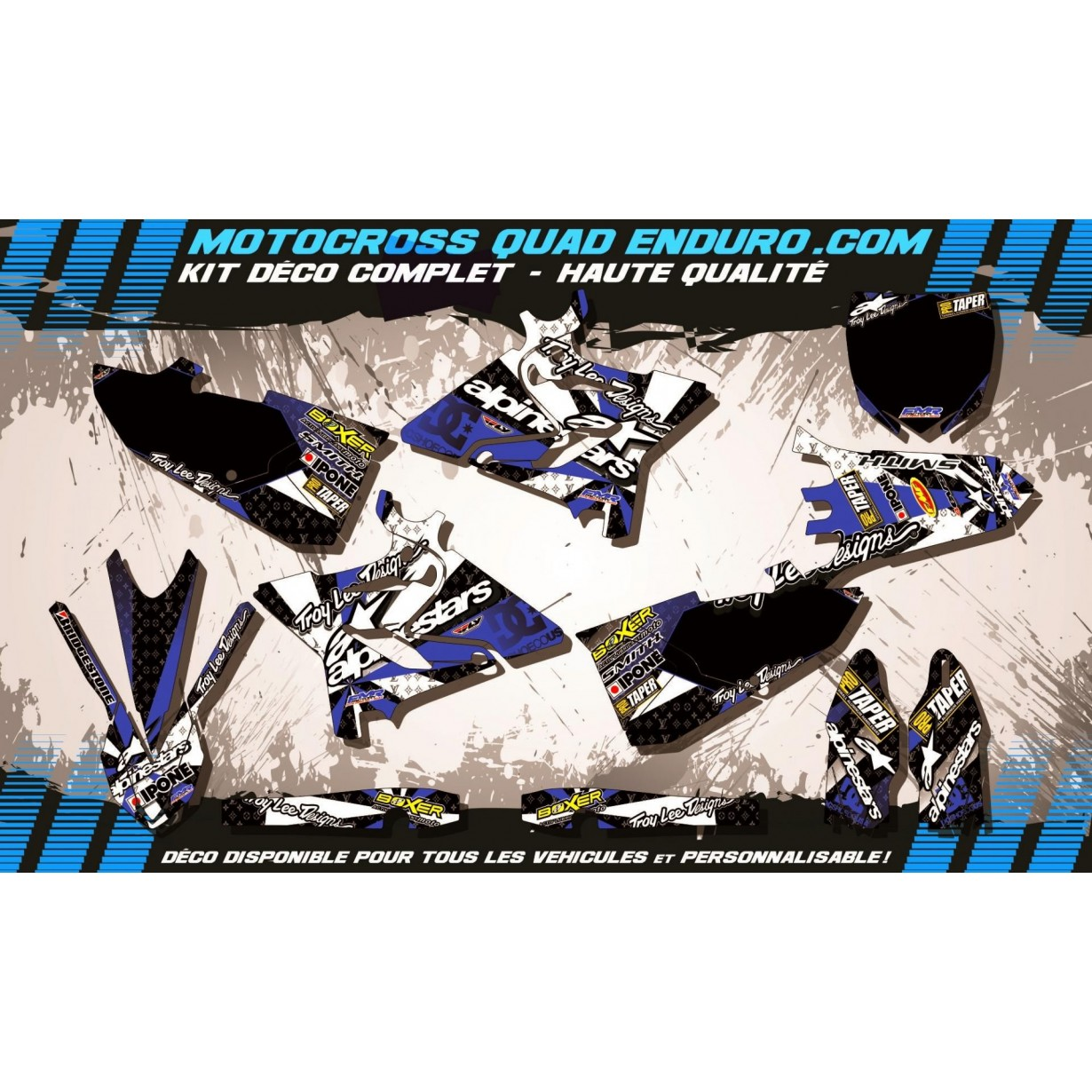 Kit deco f1047 a4d yz 125 250 15 17 m