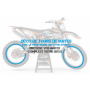 KIT DÉCO Perso 125-250 YZ 93-95 NO FEAR MA5F