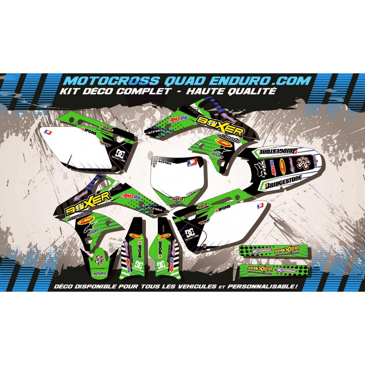 KIT DÉCO Perso 250 KXF 06-08 BOXER MA1B