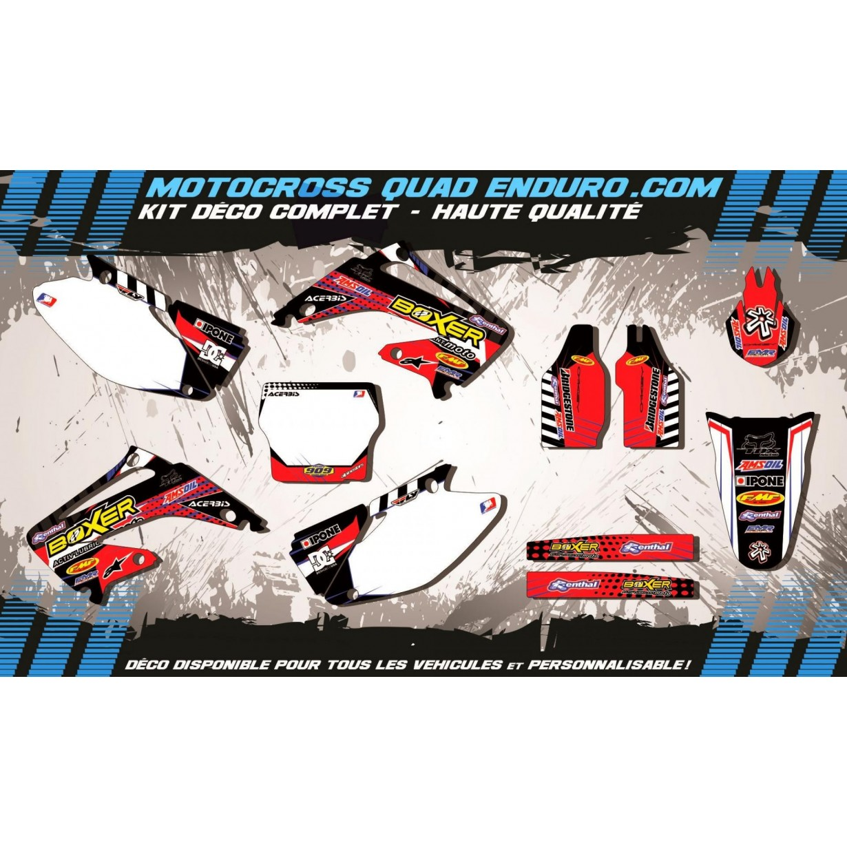 KIT DÉCO Perso 125-250 CR 02-07 BOXER MA1A