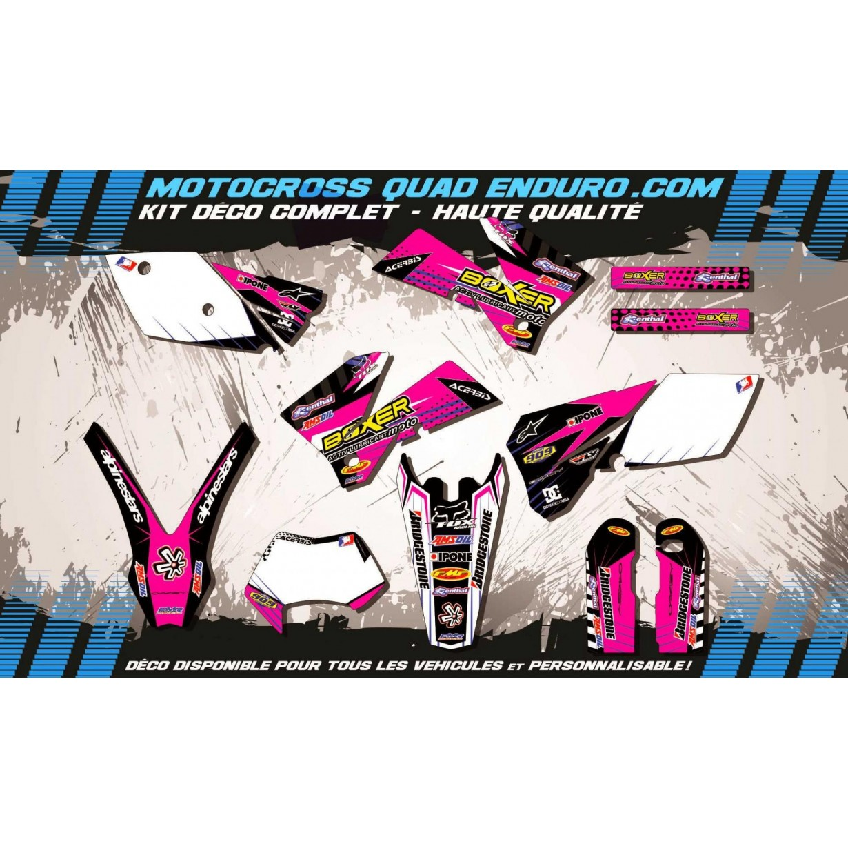 KIT DÉCO Perso EXC 05-07 BOXER MA1F