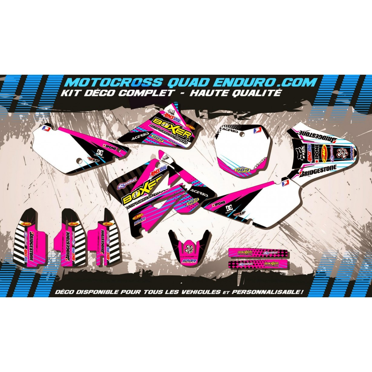 KIT DÉCO Perso 85 RM 02-15 BOXER MA1F