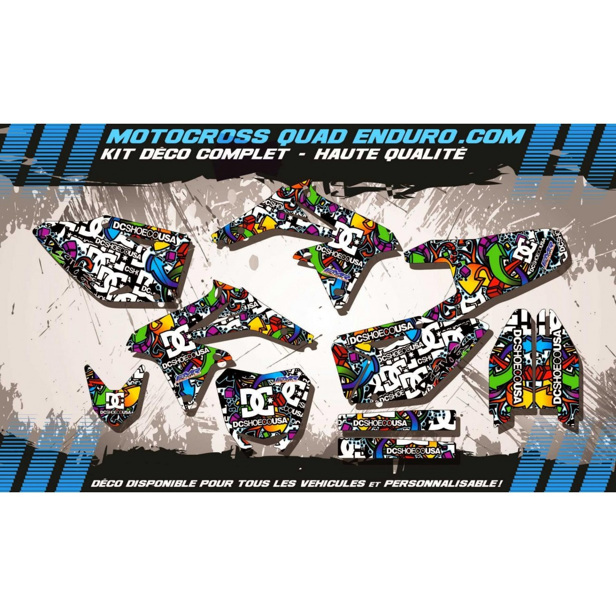 KIT DÉCO Perso 450 RMZ 08-17 DC Shoes MA14A