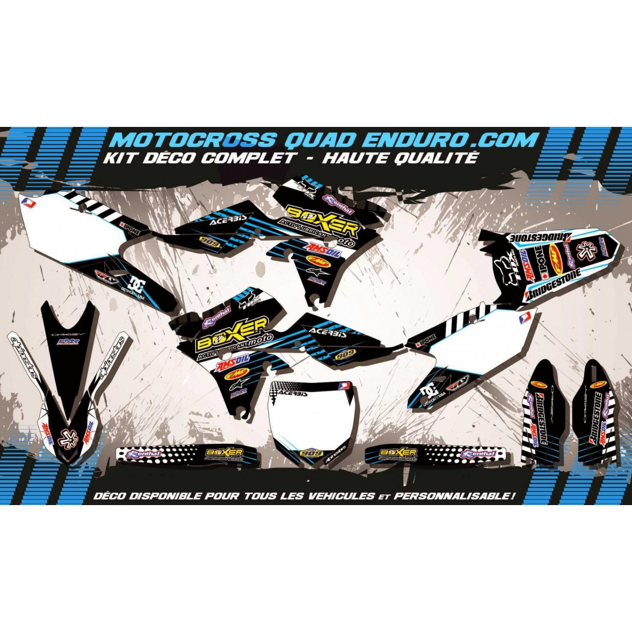 KIT DÉCO Perso 250 YZF 14-15 BOXER MA1H