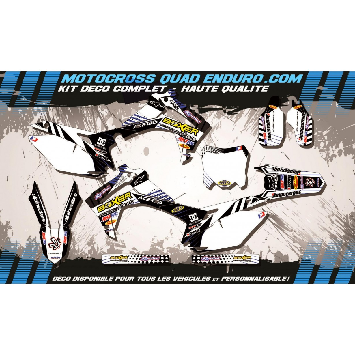 KIT DÉCO Perso 250 CRF 14-18 BOXER MA1G