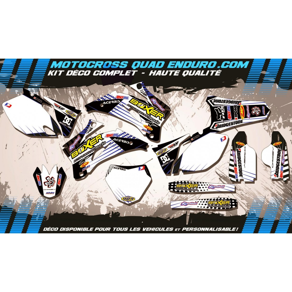 KIT DÉCO Perso 250 / 450 YZF 06-09 BOXER MA1G