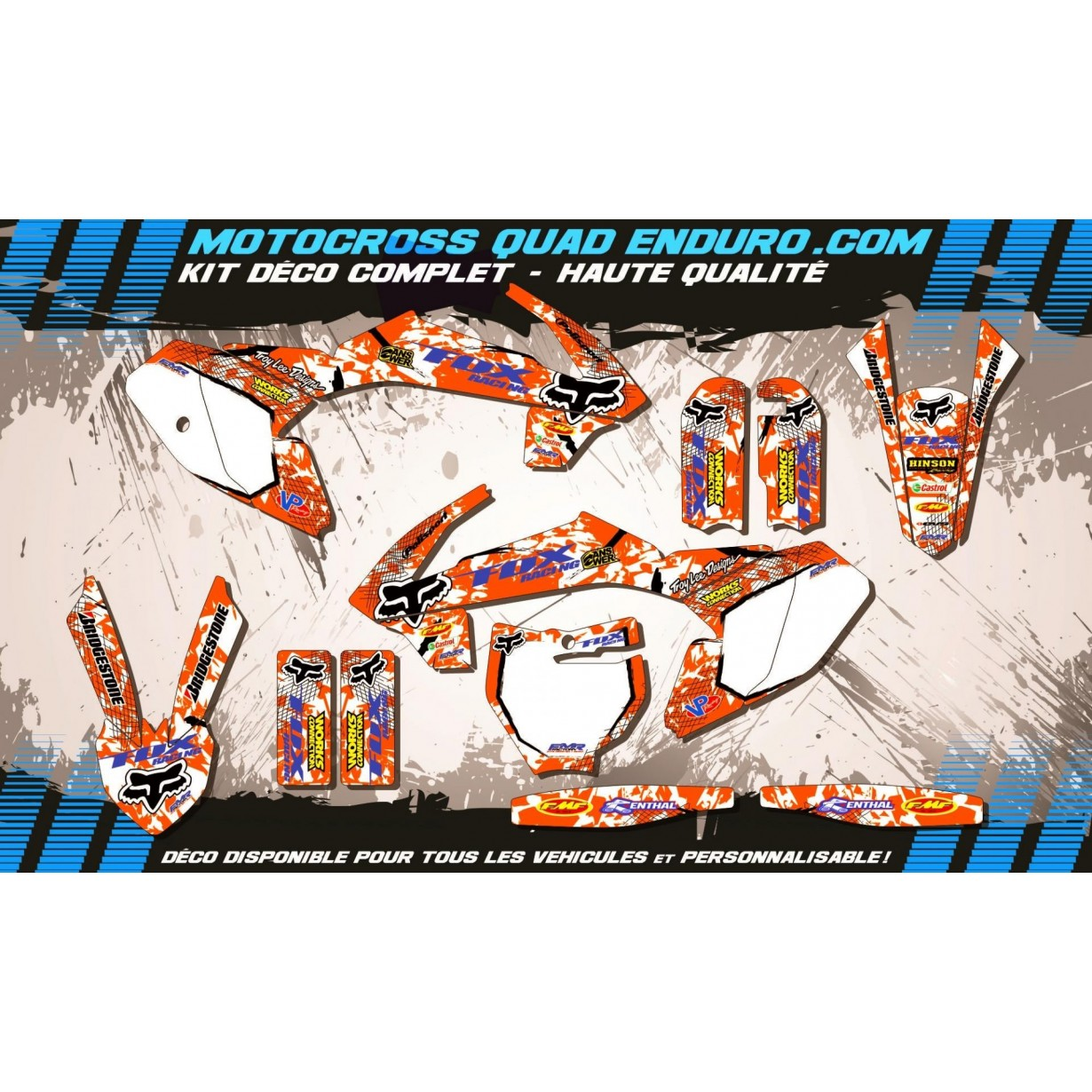 KIT DÉCO Perso 65 SX 16-18 FOX MA9C