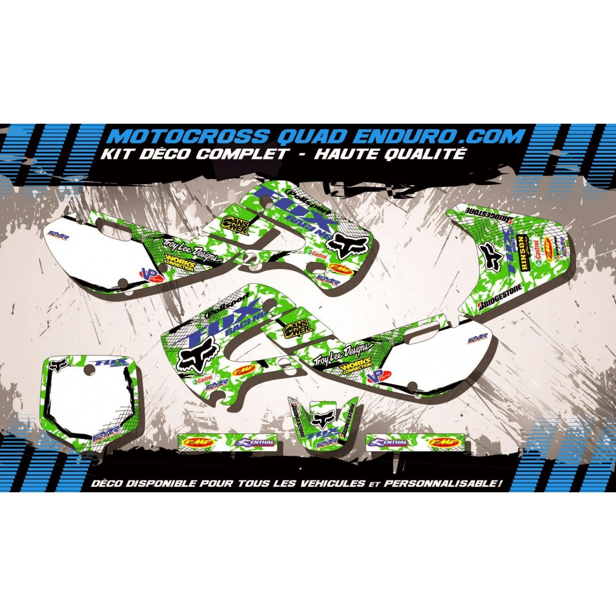 KIT DÉCO Perso 65 KX 01-18 FOX MA9B