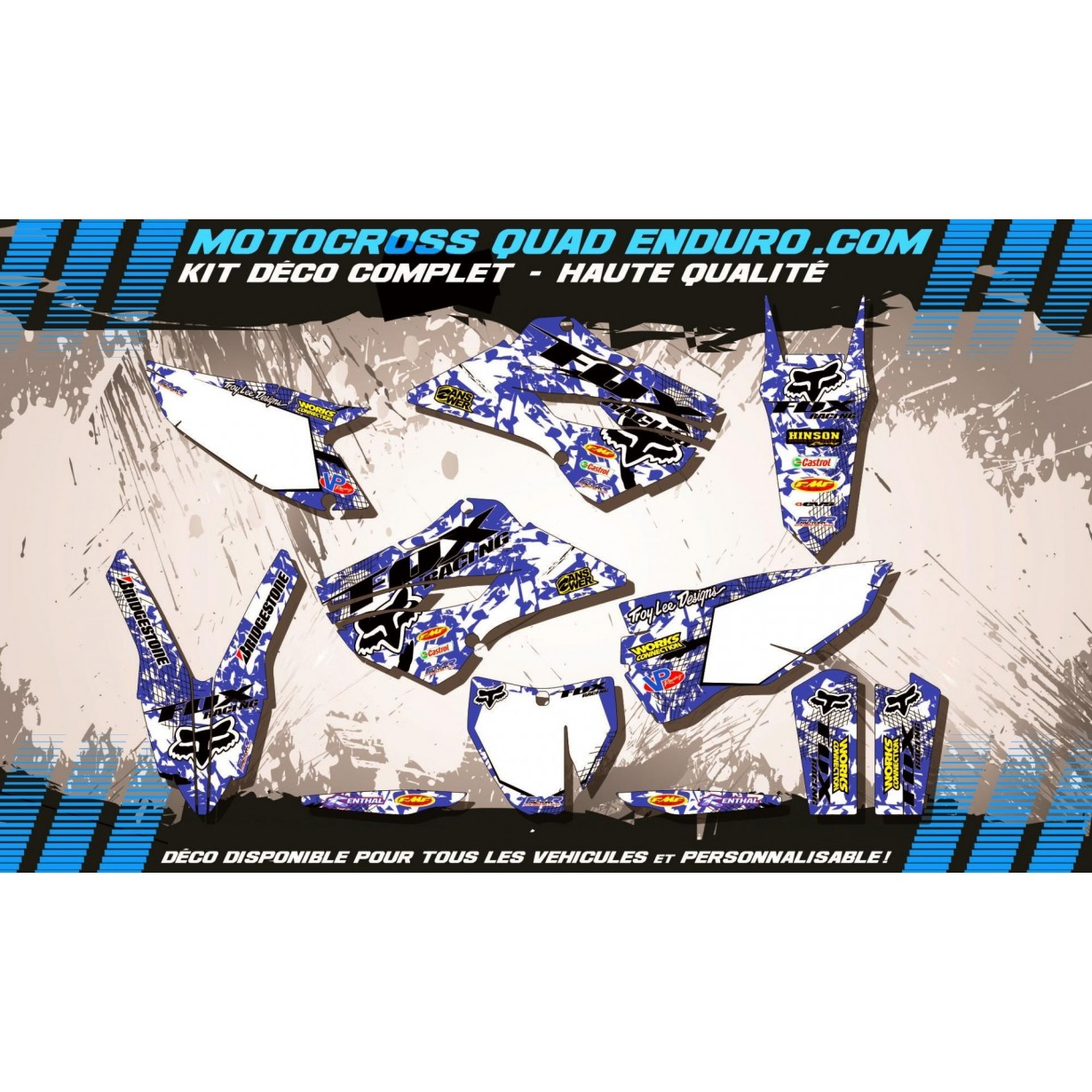KIT DÉCO Perso TC / FC 14-15 CROSS FOX MA9E
