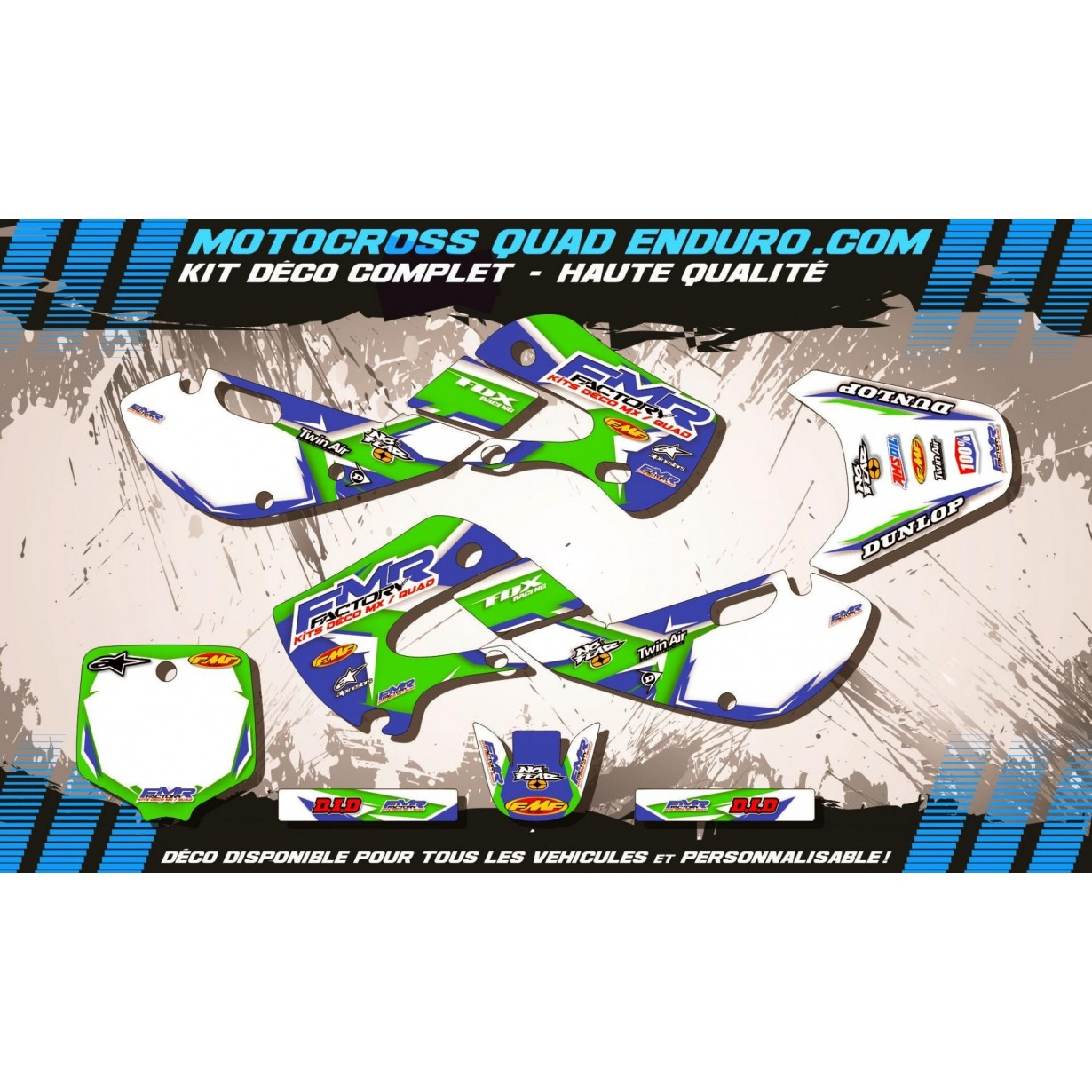KIT DÉCO Perso 65 KX 01-18 Fmr Factory MA13B