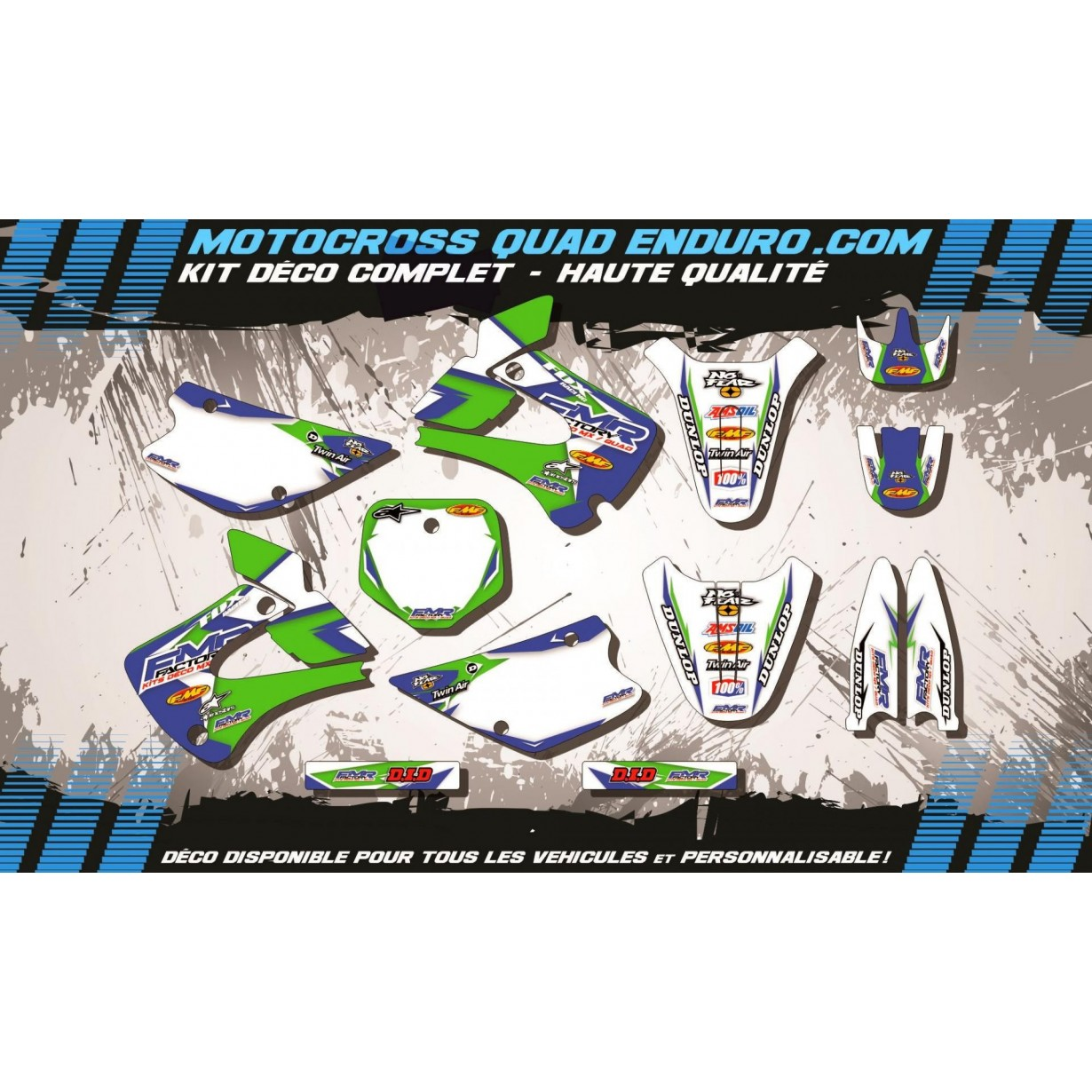 KIT DÉCO Perso 80 / 85 / 100 KX 94-13 Fmr Factory MA13B