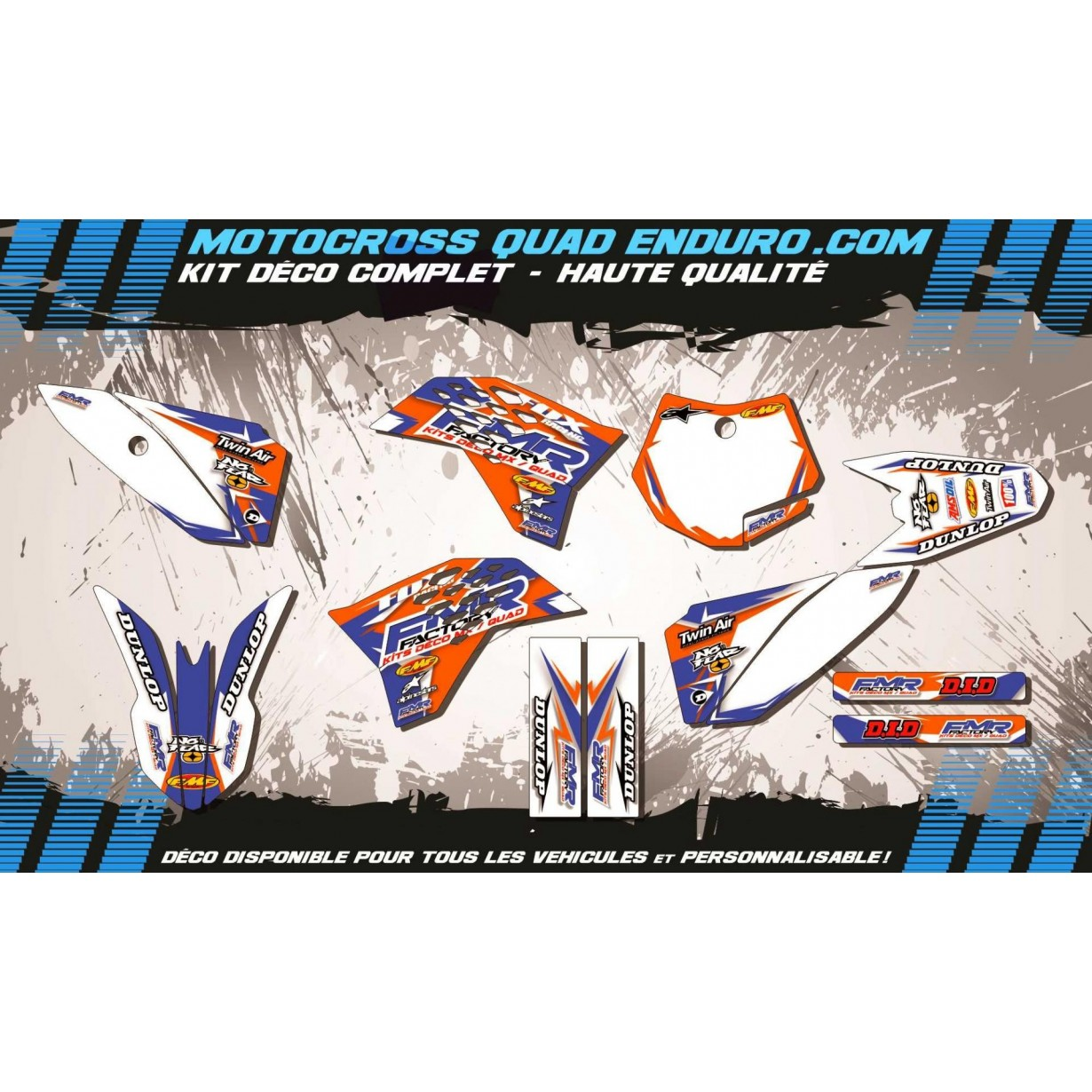 KIT DÉCO Perso 50 SX 09-15 Fmr Factory MA13C