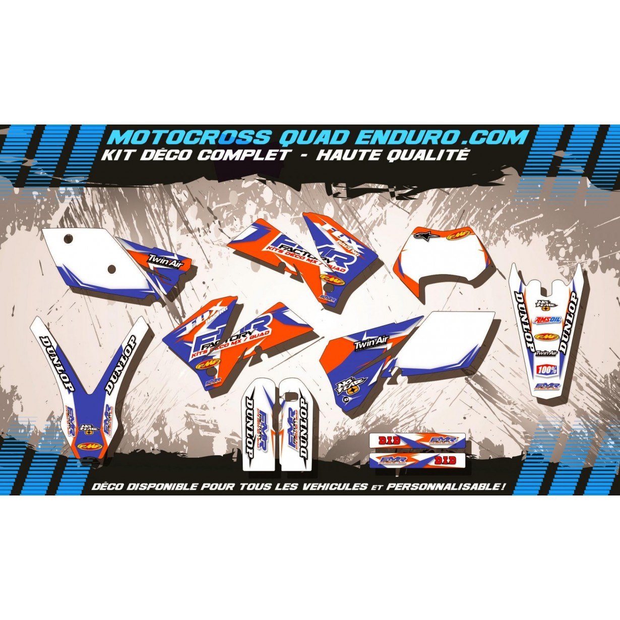 KIT DÉCO Perso EXC 05-07 Fmr Factory MA13C