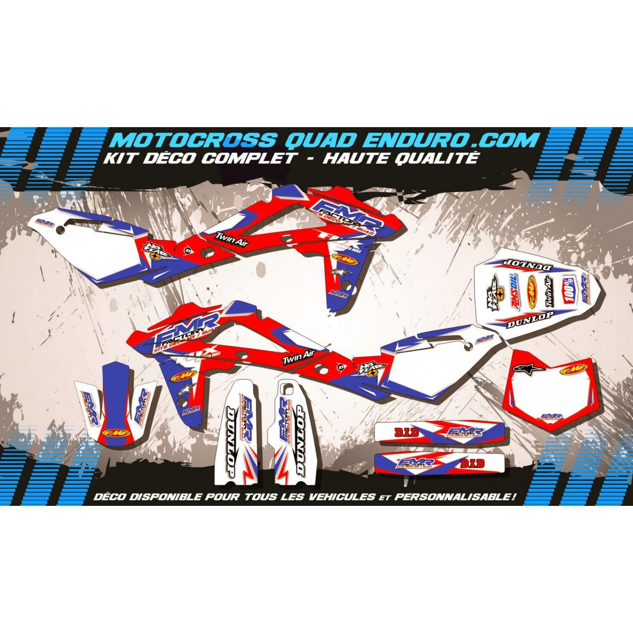 KIT DÉCO Perso CR 125 09-13 Fmr Factory MA13A