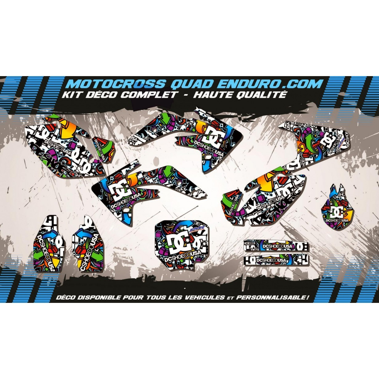 KIT DÉCO Perso 150 CRF 07-18 DC Shoes MA14A