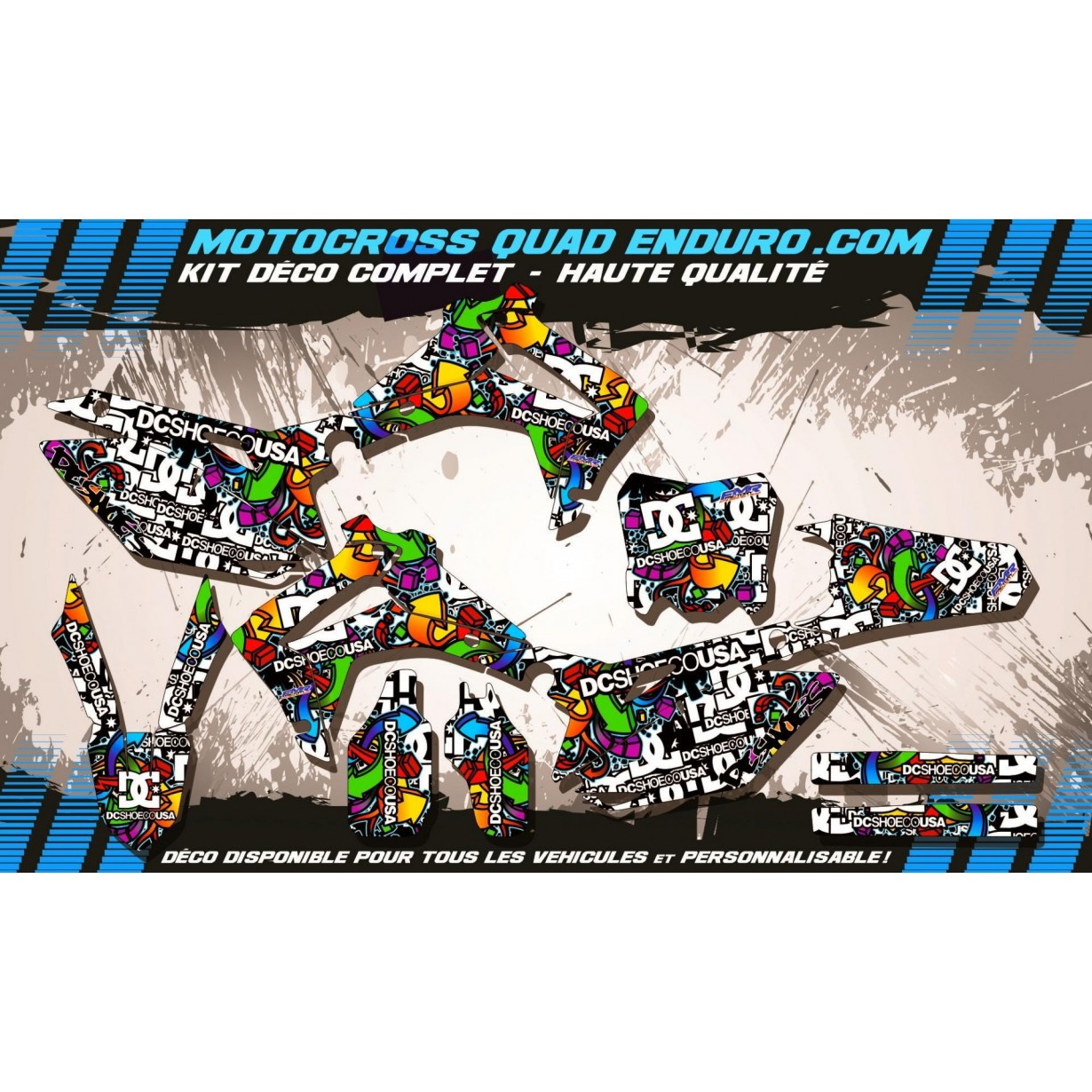 KIT DÉCO Perso 450 CRF 13-18 DC Shoes MA14A