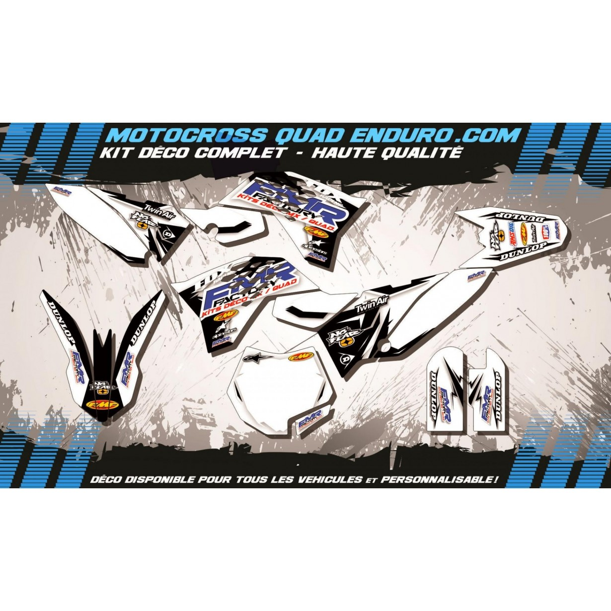 KIT DÉCO Perso 65 SX 09-15  Fmr factory WT Edition MA13WT