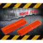 Couvres Rayons JAUNE FLUO Motocross toutes cylindrées