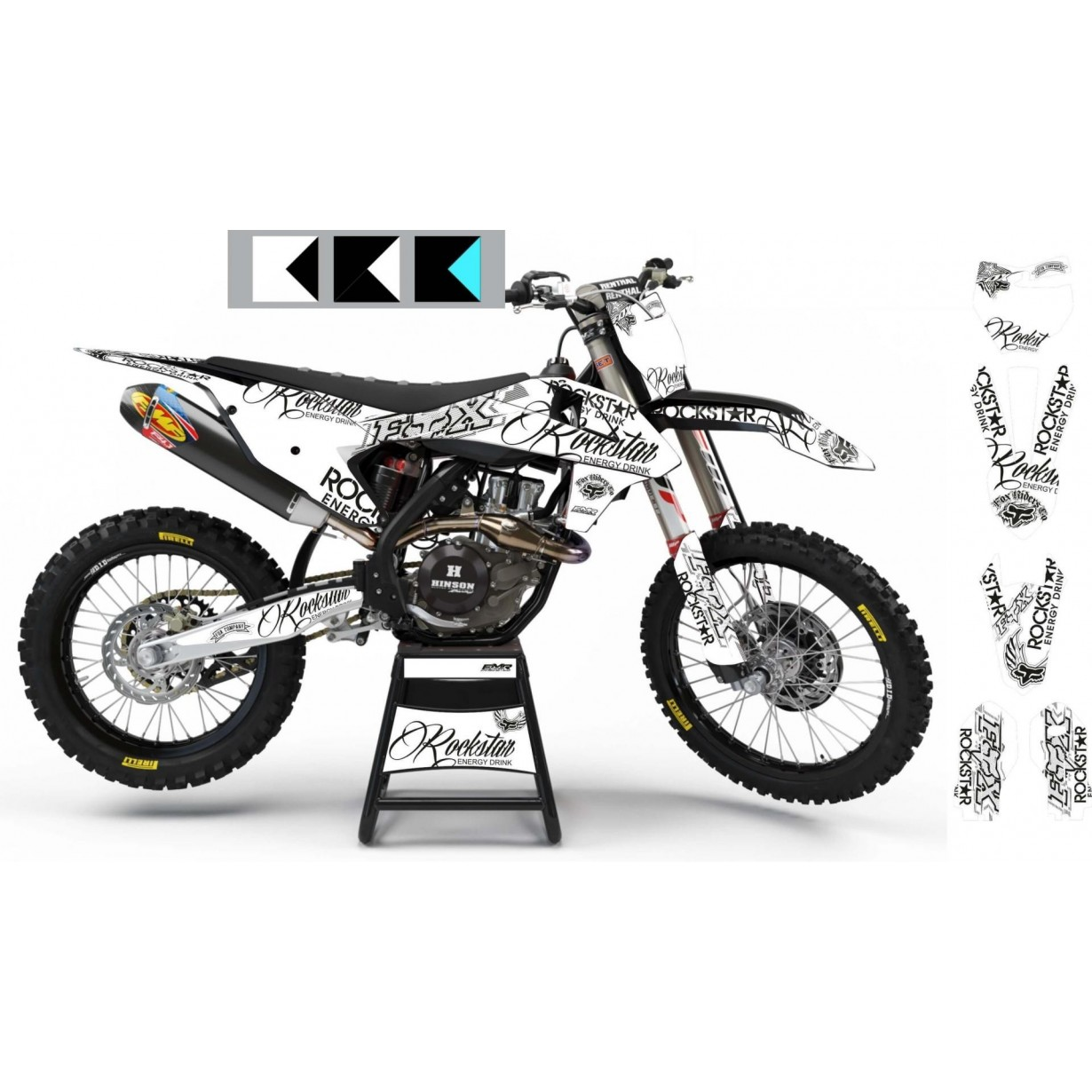 Kit deco Perso ROCKSTAR Signature