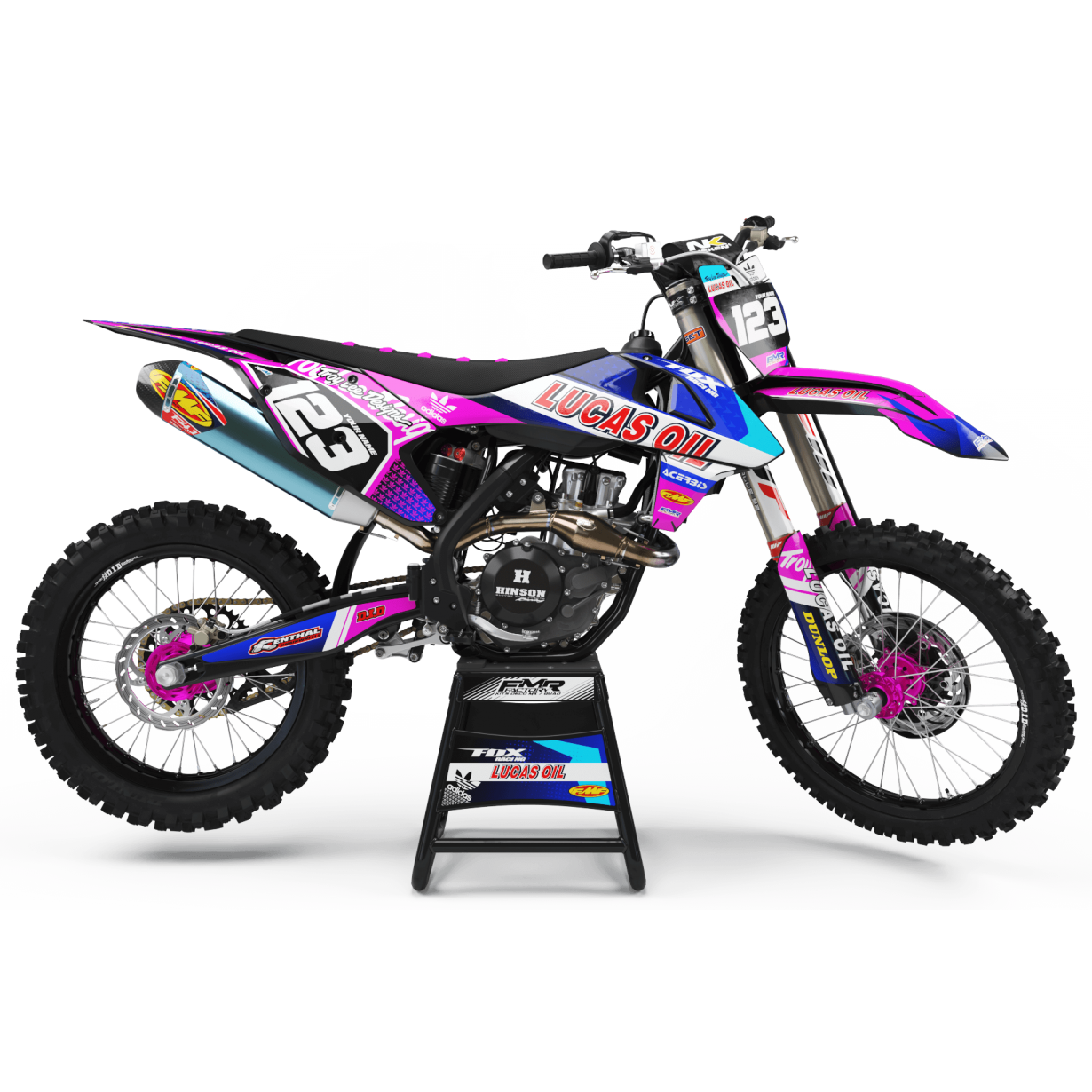 Kit deco Perso LUCAS OIL MA23F rose