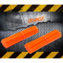 Couvres Rayons ORANGE FLUO Motocross toutes cylindrées