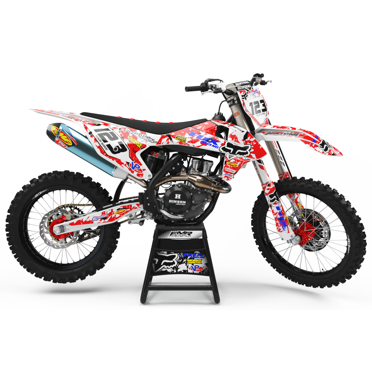 Kit deco perso ktm a9a 0
