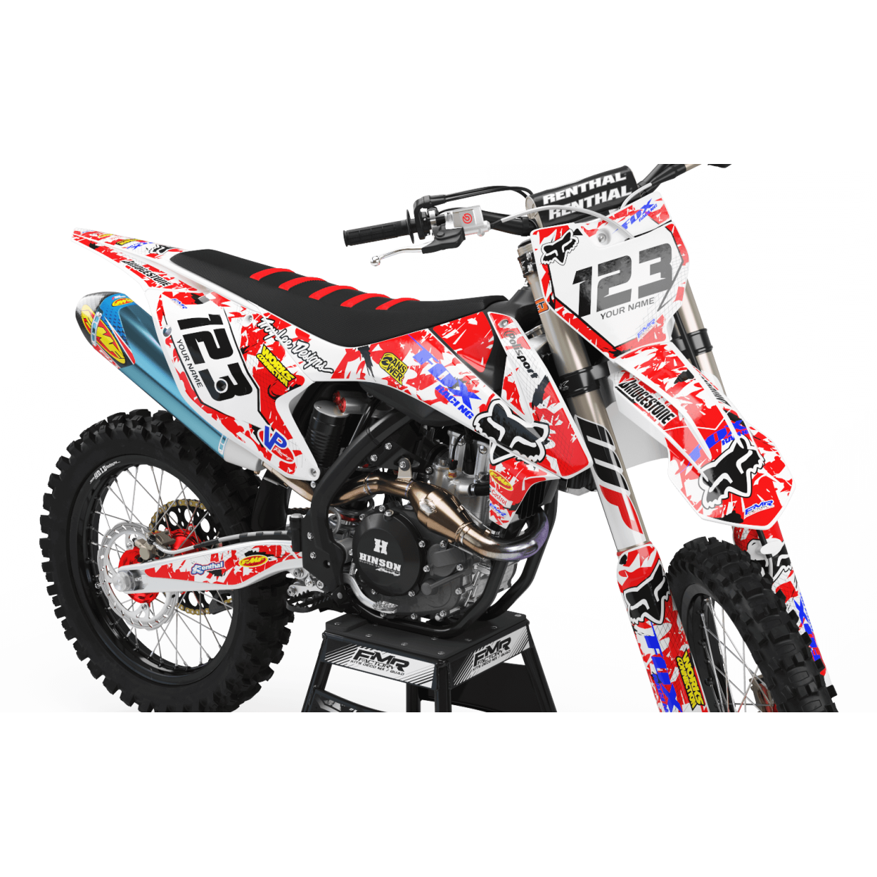 Kit deco perso ktm a9a 2