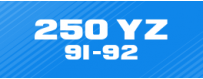 KIT DÉCO Perso  250 YZ 91-92